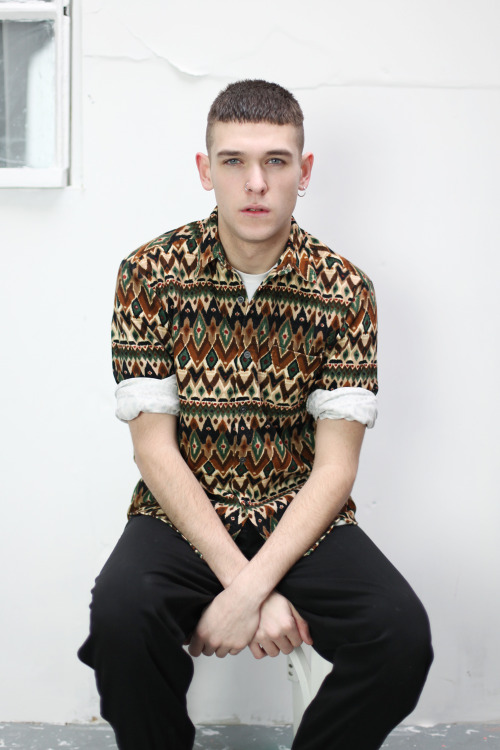 thewhitepepper:  Vintage Aztec Print Shirt from THE WHITEPEPPER See full collection   Sexy ass picture.