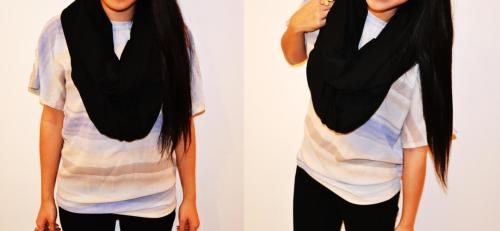 Black! $18 - Unisex *Striped top also made by all.dun.up :)