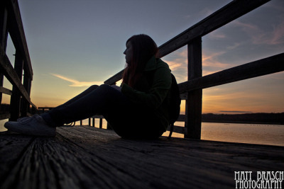 On the Dock at Dusk on Flickr.This photograph was taken at Peace Valley Park in Bucks County, PA on January 31, 2012 by Matthew Brasch. Subject: Ashley Campbell Camera: Canon EOS Rebel T3i Lens: Canon EF-S 18-55mm f/3.5-5.6 Focal Length: 18 F Number: f/3.5 Shutter Speed: 1/60