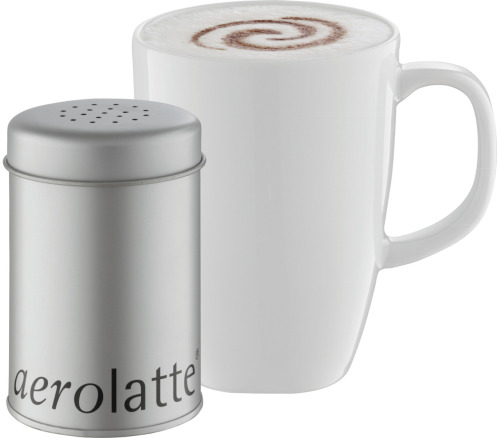 BRAND NEW IN STOCK! Aerolatte Cocoa Dredger Tin