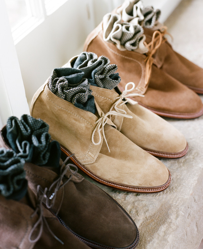 downeastandout:  Alden Snuff Suede Chukkas will be mine.