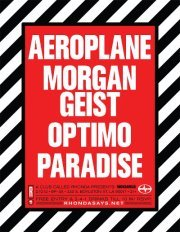 AEROPLANE is finally on his North American Tour! Check him out in #LA at 333 Live (via RHONDAVOUS W/ AEROPLANE, MORGAN GEIST & OPTIMO | Facebook)
