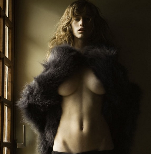 Photographed by David Bellemere The female body image.