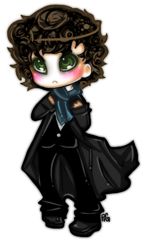 a chibi commission for lindsay. this one was rather cumbersome. tohohoho