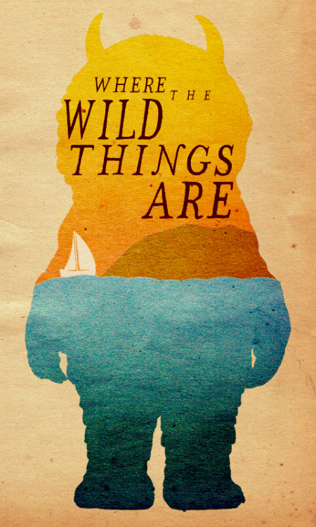 minimalmovieposters:  Where The Wild Things Are by Travis English