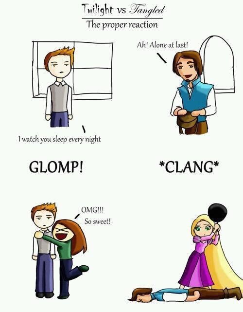 Twilight vs Tangled