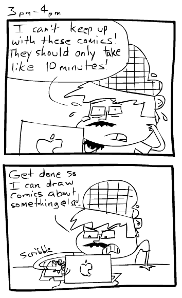 Hourly Comics Day 20123pm-4pm