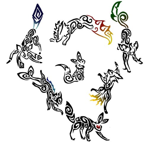 Tribal Eeveelutions