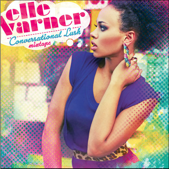 Cutie Elle Varner rocks Melody Ehsani Lifesaver Doorknockers on the cover of her new Single.