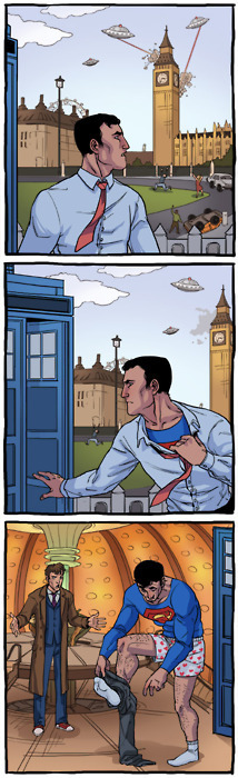 Doctor Who & Superman