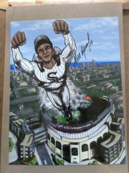 Alexei Ramirez Signed 11x14 In Person Soxfest $50