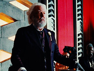 So, is Donald Sutherland the coolest or what? He petitioned Gary Ross for the role of President Snow in THE HUNGER GAMES - then inspired two new scenes for the character!