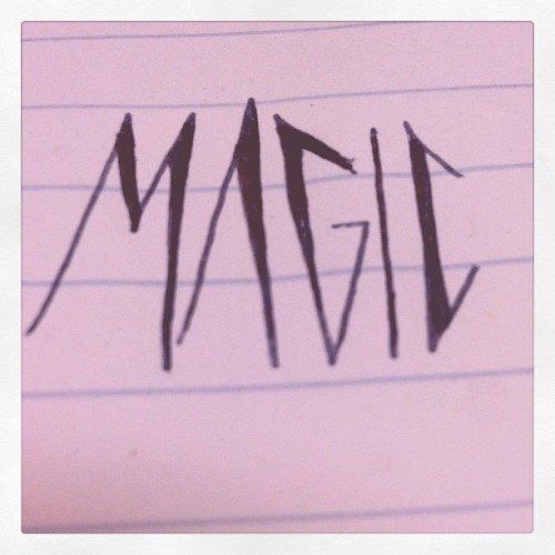 #magic (Taken with instagram)