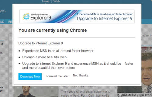 LOL Internet Explorer, cmon…. cmon….