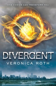 Book #1 _ Divergent, by Veronica Roth.