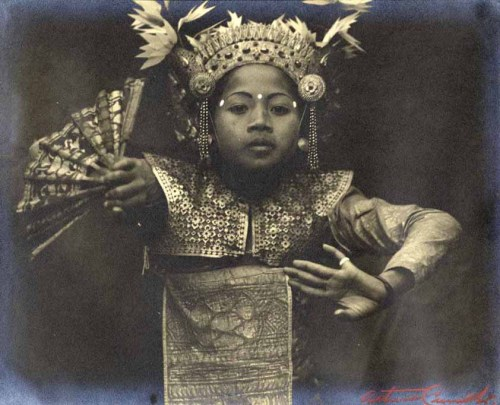 Young dancer, Java, circa 1930 by Arthur de Carvalho