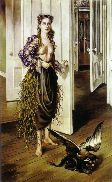 Dorothea Tanning Birthday 1942 She died today at 101 years old. How surreal. RIP, Dorthea Tanning.