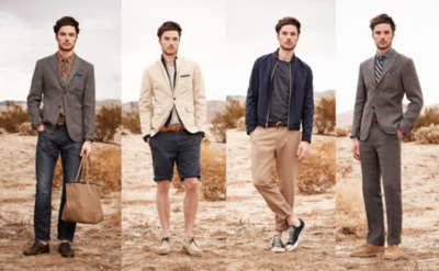 Club Monaco Spring/Summer 2012 Collection Segmenting off its Spring/Summer 2012 collection into monthly installments, Club Monaco unveils its latest comprehensive lookbook for the forthcoming seasons. Shot in Palm Springs, California, the pictorial embodies a sophisticated, laid-back aesthetic effectively promoting the label's playful patterns and unassuming color palette. Muted chromatic hues maintain a strong presence throughout the menswear arrangement. Chambrays button-ups, linen trousers, soft cotton jackets and a range of cotton knitwear round out the collection. The collection will begin its rollout through April, May, and June 2012 at all Club Monaco doors.