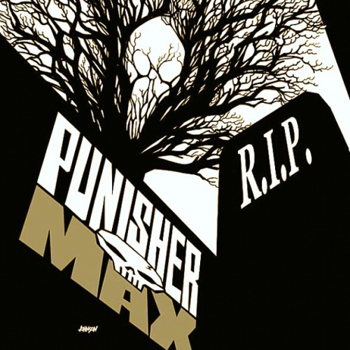 #Punisher #PunisherMax #CoverArt  (Taken with instagram)