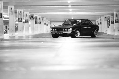 Fonzy's Celica on Flickr.Old skool TA22 Celica from Sydney, Australia. The feature and more pics: http://www.canibeat.com/2012/02/above-and-beyond-alfonso-octavianos-1975-toyota-celica/
