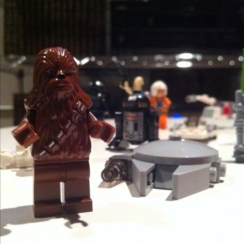 Chewbacca and stuff… #starwars #lego  (Taken with instagram)