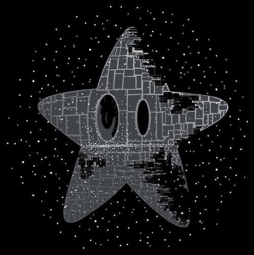 tiefighters:  Death Star Power - by Jeremy Henrickson Shirt available at Redbubble (via: assorted-goodness)