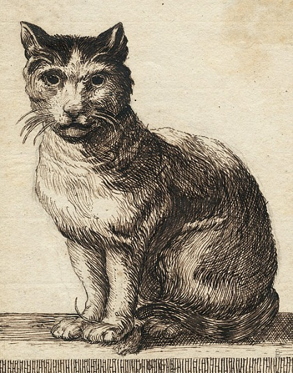Unknown (Dutch) Cat with a Mouse 1662