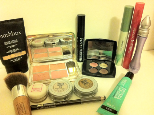 I thought I'd show what's used in my every day make up routine.