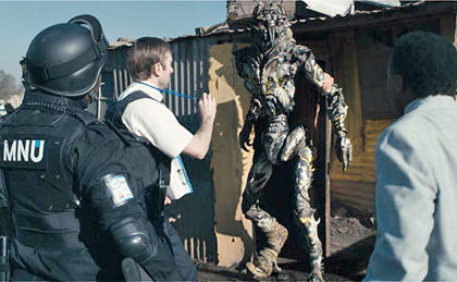 "lzbnt:  ""District 9"" Drinking Game THE RULES Drink Every Time… - Something explodes- Someone is interviewed- The video format changes - Someone (or something) is shot - You see static - You see slime- You see a gun- You see cat food - You see cat food - Someone says ""prawn"" - double if it's ""fookin' prawn""- Someone says ""district"" - Someone says something in the alien language"