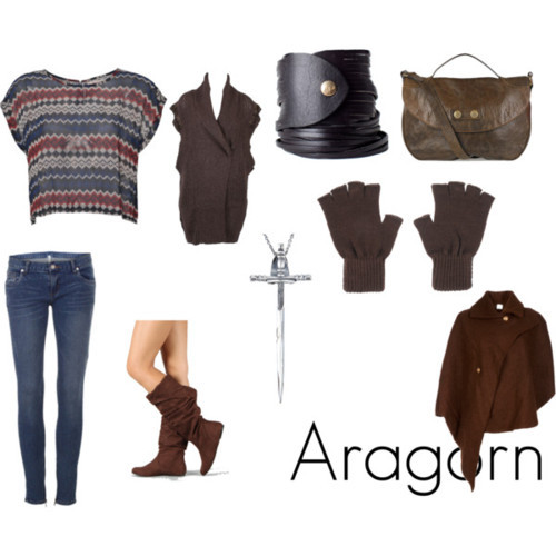"fashionlit:  Aragorn from J.R.R. Tolkien's The Lord of the Rings ""I see in your eyes the same fear that would take the heart of me."" (Suggested by me-vale-madre)  (I don't care if that quote is only in the movie. It's amazing, so.)"