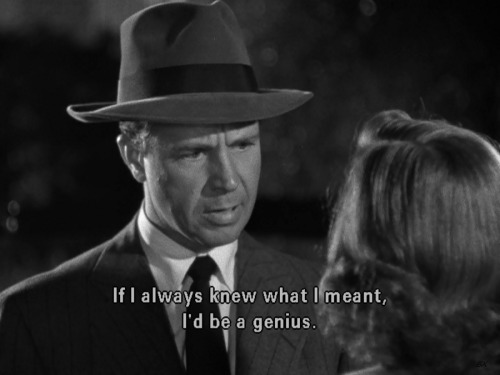 the-asphalt-jungle:  Murder, My Sweet (1944) Dick Powell & Anne Shirley