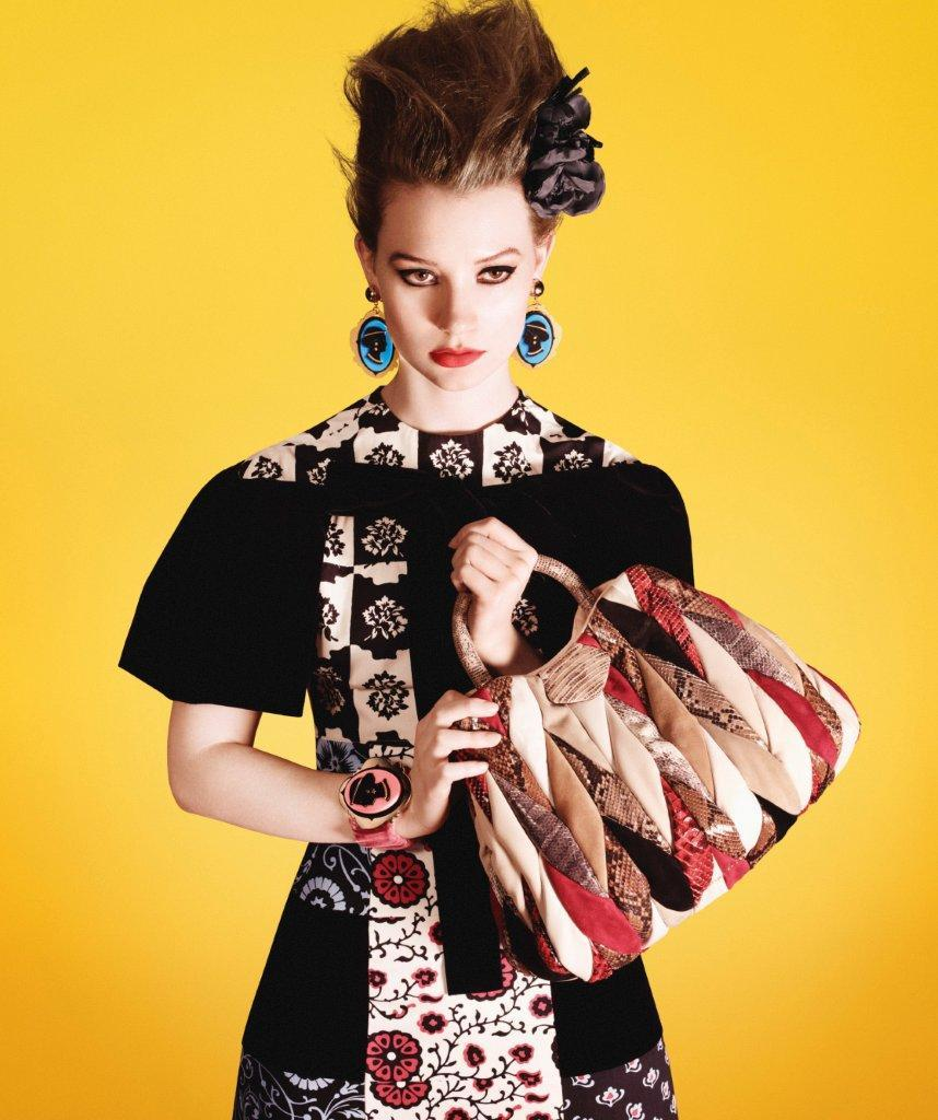 Mia Wasikowska for Miu Miu Spring/Summer 2012 by David Sims