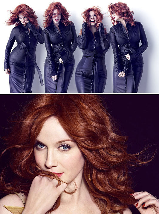 Christina Hendricks - Cosmo UK by James White, March 2012