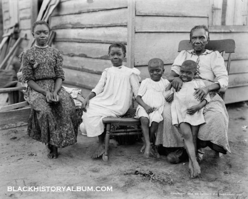 Grandma's House | 1903 on Flickr. African American grandmother surrounded by her grandkids, Louisiana, 1903. FIND US ON TWITTER | FACEBOOK | FLICKR  SUBCRIBE VIA  RSS | EMAIL