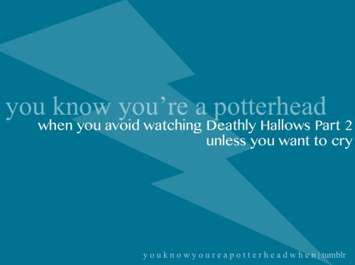 youknowyoureapotterheadwhen:  submission courtesy of thethreebroomsticks394