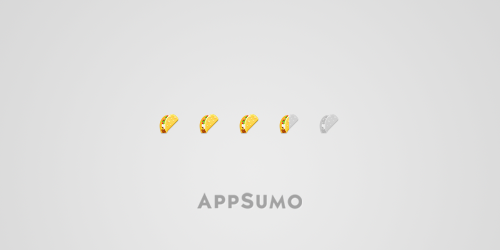 AppSumo's Taco Ratings