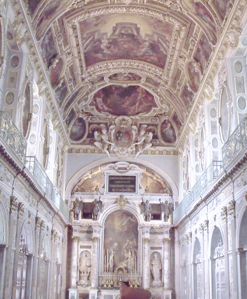 The Chapel of the Trinity in the Château de Fontainebleau, where Lana Del Rey's video for Born To Die was shot.