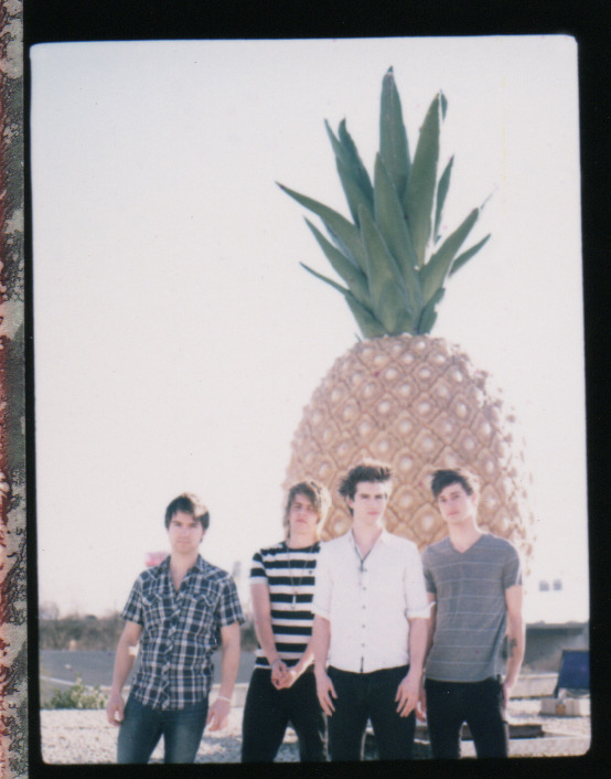 Polaroid from a shoot a couple days ago with The Downtown Fiction.  Pineapple Building - Baltimore, MD (http://brettarthurphoto.com)