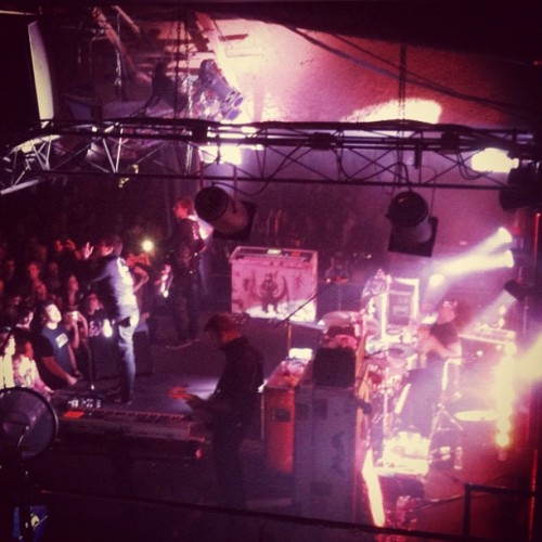 Angels & Airwaves at the Belly Up (Taken with instagram)