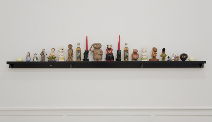 Haim Steinbach on Mike Kelley. Mike Kelley was found dead yesterday, at home in LA.