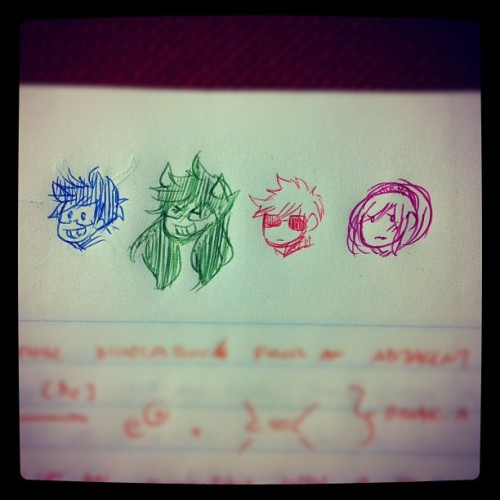 Ochem Homestuck scribbles. Colored pens yisssss~ (Taken with Instagram at West Irvine Neighborhood)