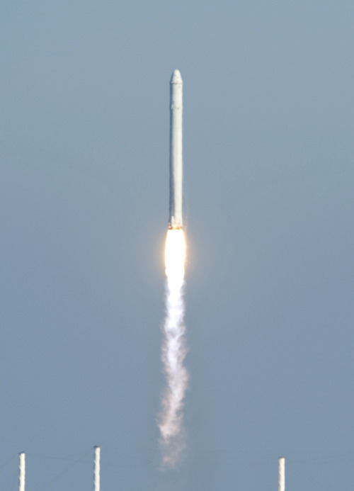 The Falcon 9 carried a small number of nanosatellites to orbit as well. Included were the first U.S. Army nanosatellite, one for Space and Missile Defense Command, and one provided by the U.S. National Reconnaissance Office.  Also, a secret payload was used as weight ballast. The payload was revealed a day after launch.