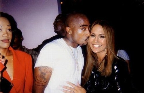 Tupac and Jennifer Lopez