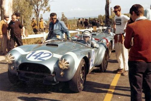 Bob Bondurant/Phil Hill Shelby Cobra at Targa Florio 1964