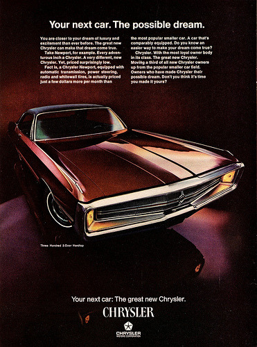 1969 Chrysler Three Hundred 2-Door Hardtop (by aldenjewell)