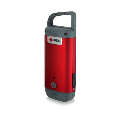 Use this Eton American red cross pocket generator to power almost any phone or usb device and never run out of power because you make it. Also doubles as a flash light. Click photo to view on Amazon.com