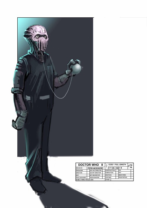 What the Ood could have looked like [concept art]