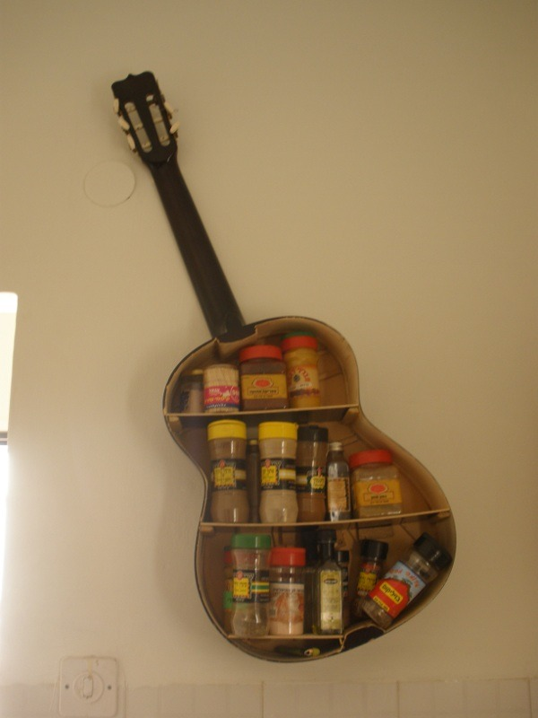 Guitar Spice Shelf :D