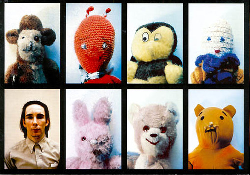 printeresting:   Mike Kelley, Ah… . Youth!, 1991.RIP Mike Kelley, 1954-2012 (via)Read more here.