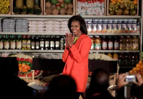 "via MrsO.com - Feb 1, 2012 ""The First Lady appeared at a Let's Move event in Inglewood, California today to celebrate the future site of a Northgate Gonzalez Market. ""First Lady Speaks at Northgate Gonzalez Site"" [Supermarket News]"""
